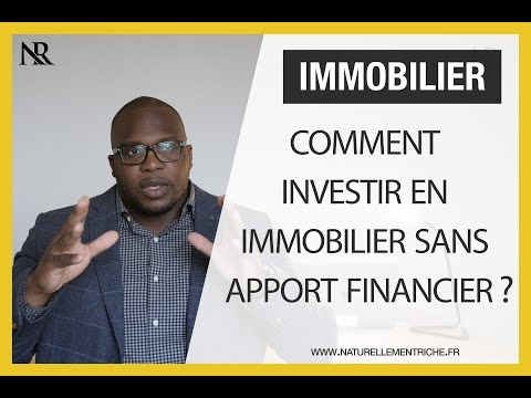 Comment investir en immobilier sans apport financier ?