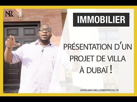 Immobilier : Présentation d'un projet de villa à Dubaï !