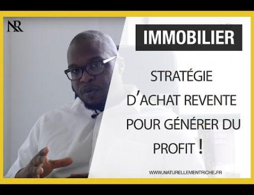IMMOBILIER : Stratégie d'ACHAT REVENTE pour générer du profit