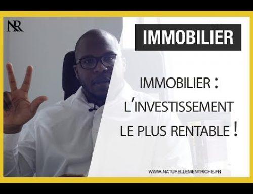 IMMOBILIER : L'INVESTISSEMENT le plus RENTABLE