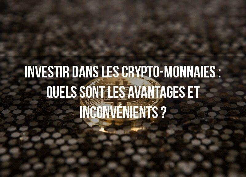 investir dans les avantages du bitcoin